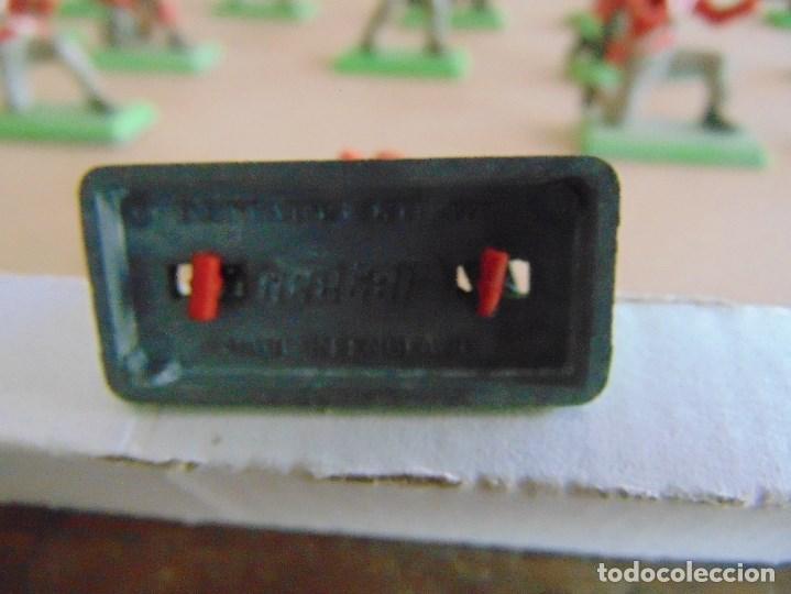Figuras de Goma y PVC: LOTE DE FIGURAS INDIOS SOLDADOS DE JECSAN REAMSA O MARCAS SIMILARES BRITAINS BASE METALICA - Foto 12 - 92967940