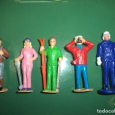 Figuras de Goma y PVC: LOTE DE 5 FIGURAS DE PLASTICO DURO. Lote 92986650