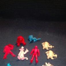 Figuras de Goma y PVC: LOTE DUNKIN DANONE COLGATE BOOMER YOLANDA COMANSI PVC. Lote 93030788