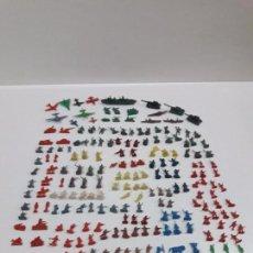 Figuras de Goma y PVC: SOLDADITOS Y COMPLEMENTOS MONTAPLEX . AÑOS 70. Lote 93067885