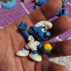Figuras de Goma y PVC: FIGURA PVC. PITUFO . Lote 93139460
