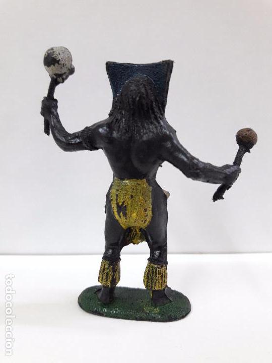 Figuras de Goma y PVC: HECHICERO - BRUJO AFRICANO . REALIZADO POR TEIXIDO . AÑOS 60 - Foto 2 - 93261115