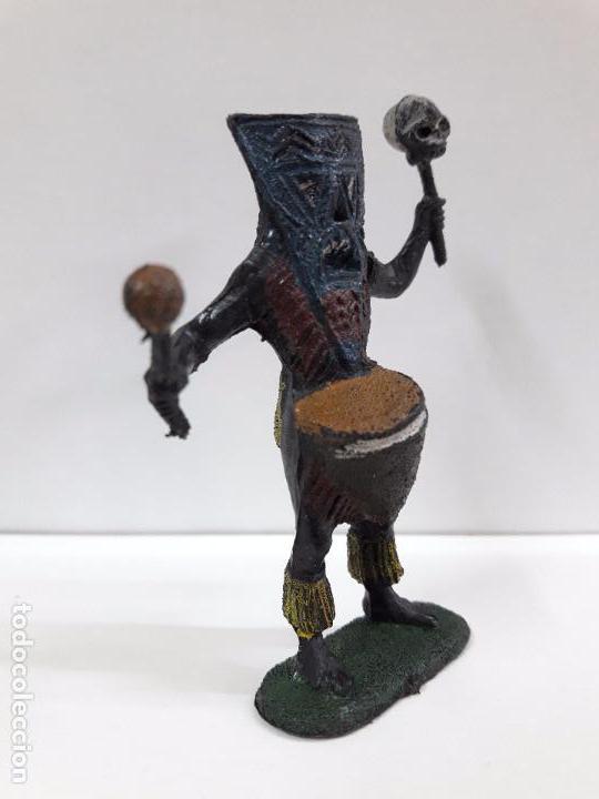 Figuras de Goma y PVC: HECHICERO - BRUJO AFRICANO . REALIZADO POR TEIXIDO . AÑOS 60 - Foto 4 - 93261115