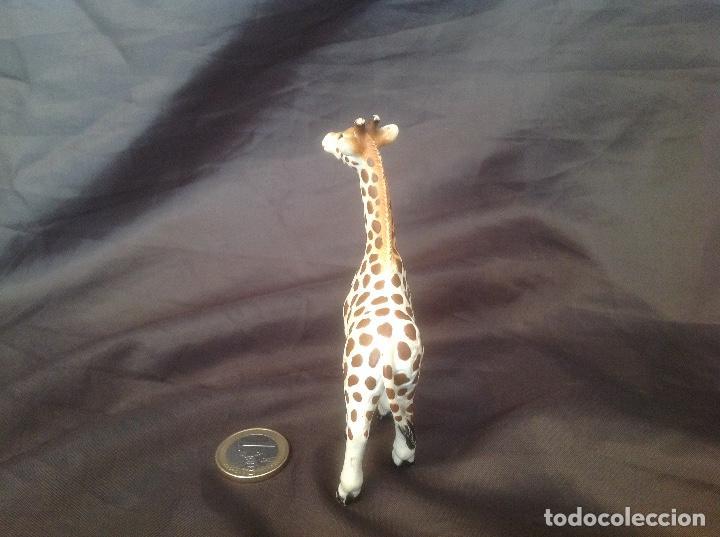 Figuras de Goma y PVC: Figura pvc antigua schleich 1998 cría de jirafa - Foto 3 - 93661515