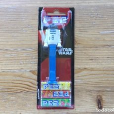 Dispensador Pez: DISPENSADOR PEZ STAR WARS R2-D2 EMBALAJE ORIGINAL SIN ABRIR. Lote 93664010