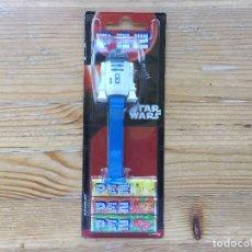 Dispensador Pez: DISPENSADOR PEZ STAR WARS R2-D2 EMBALAJE ORIGINAL SIN ABRIR. Lote 93664060
