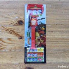 Dispensador Pez: DISPENSADOR PEZ ANGRY BIRDS RED EMBALAJE ORIGINAL SIN ABRIR. Lote 93665190