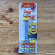 Dispensador Pez: DISPENSADOR PEZ MINIONS KEVIN EMBALAJE ORIGINAL SIN ABRIR. Lote 93665485