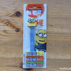 Dispensador Pez: DISPENSADOR PEZ MINIONS KEVIN EMBALAJE ORIGINAL SIN ABRIR. Lote 93665535