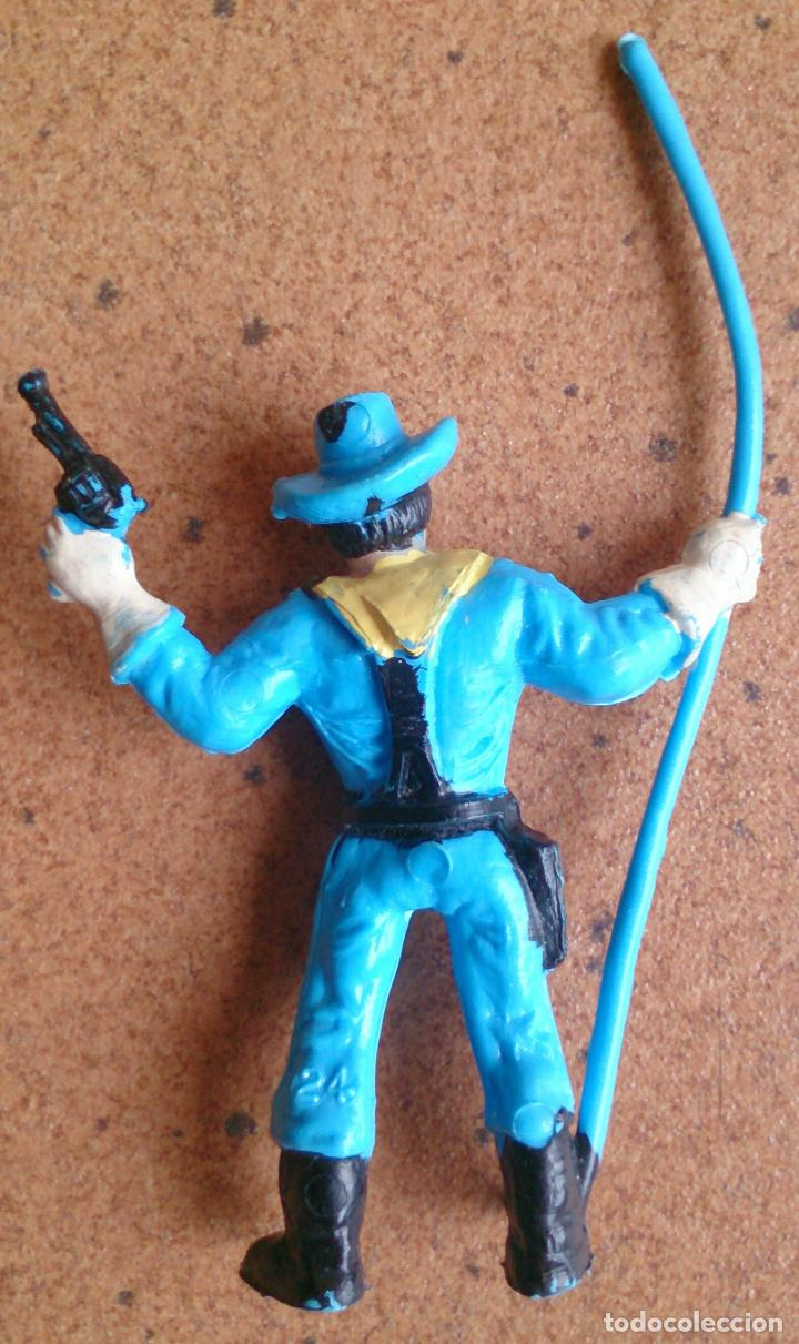 Figuras de Goma y PVC: Figura soldado Comansi Yankee - Foto 2 - 93669645