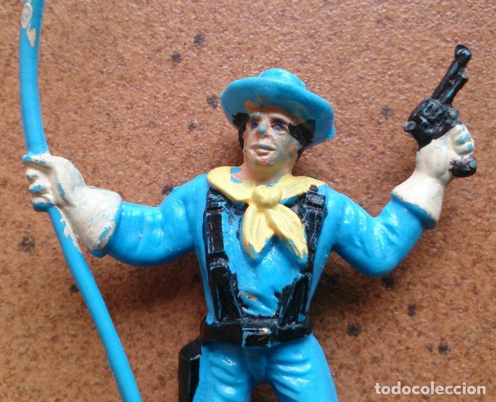 Figuras de Goma y PVC: Figura soldado Comansi Yankee - Foto 3 - 93669645
