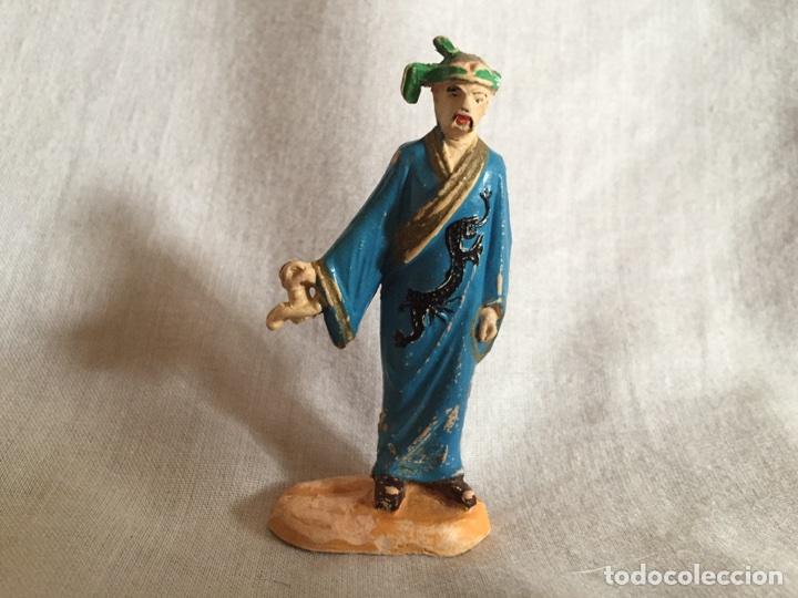 JECSAN MAGO CHINO EN GOMA DEL CIRCO DE JECSAN (Juguetes - Figuras de Goma y Pvc - Jecsan)