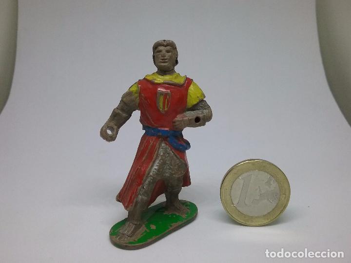 FIGURA GOMA - EL CAPITÁN TRUENO - JIN - ESTEREOPLAST (Juguetes - Figuras de Goma y Pvc - Estereoplast)