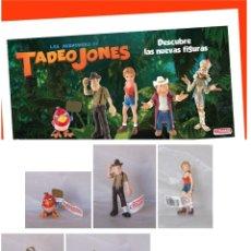 Figuras de Goma y PVC: FIGURAS PVC TADEO JONES & FAMILIA. Lote 121206007