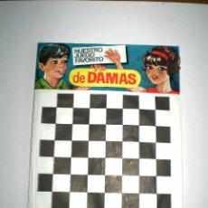 Figuras de Goma y PVC: MONTAPLEX SOBRE DAMAS PRIMERA ÉPOCA - KIOSKO AÑOS 70´S. Lote 94073835