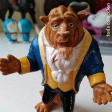 Figuras de Goma y PVC: FIGURAS GOMA PVC DE LA BELLA Y LA BESTIA BULLY DISNEY. Lote 94132235