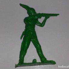 Figuras de Goma y PVC: PIPERO ANTIGUO GUERRERO INDIO AÑOS 70 KIOSCO. Lote 94289094
