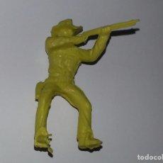Figuras de Goma y PVC: PIPERO : ANTIGUA FIGURA DE PLASTICO VAQUERO COWBOY DE KIOSCO AÑOS 70. Lote 94291146