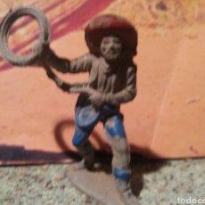 Figuras de Goma y PVC: ANTIGUA FIGURA DEL OESTE REAMSA. SERIE INDIOS Y VAQUEROS. GOMA. AÑOS 50/60.. Lote 94414307