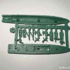 Figuras de Goma y PVC: MONTAPLEX - COLADA BARCO ARIZONA Nº 438 - VERDE. Lote 94415050