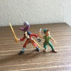 Figuras de Goma y PVC: DOS FIGURAS DE PETER PAN PVC. Lote 94483832