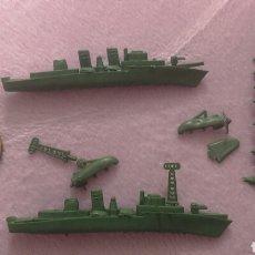Figuras de Goma y PVC: BARCOS BUQUES DE GUERRA MONTAPLEX. Lote 94529472