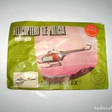 Figuras de Goma y PVC: MONTAPLEX SOBRE Nº 620 - HELICÓPTERO DE POLICÍA - CERRADO - PUNTO BLANCO DIFICIL. Lote 94551999