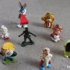 Figuras de Goma y PVC: LOTE DE OCHO DIFERENTES FIGURAS DE.... Lote 94581371