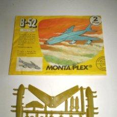 Figuras de Goma y PVC: MONTAPLEX SOBRE Nº 603 VACÍO + COLADA DEL AVIÓN B-52. Lote 94865499