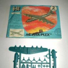 Figuras de Goma y PVC: MONTAPLEX SOBRE Nº 615 VACÍO + COLADA DEL AVIÓN B-36. Lote 94865635