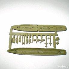 Figuras de Goma y PVC: MONTAPLEX - COLADA BARCO CONQUISTADOR Nº 433 - VERDE MILITAR. Lote 94867559