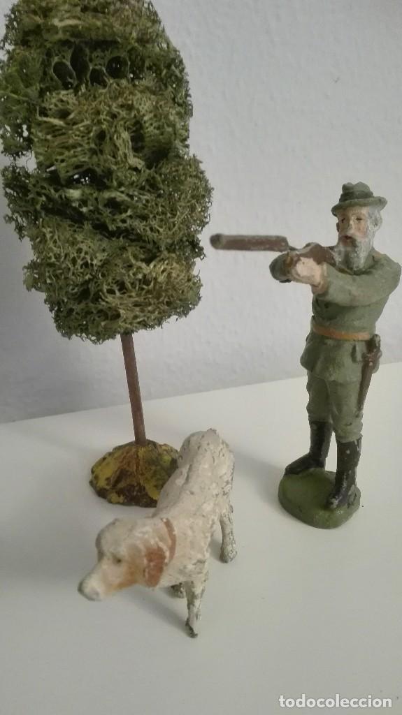 Figuras de Goma y PVC: Elastolin diorama cazador - Foto 2 - 94908291