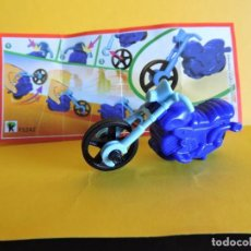 Figuras Kinder: MINIATURA KINDER - SPRINTY - MOTO - FS242. Lote 95006647