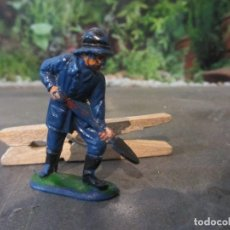 Figuras de Goma y PVC: FIGURA BOMBERO JECSAN. Lote 95147067