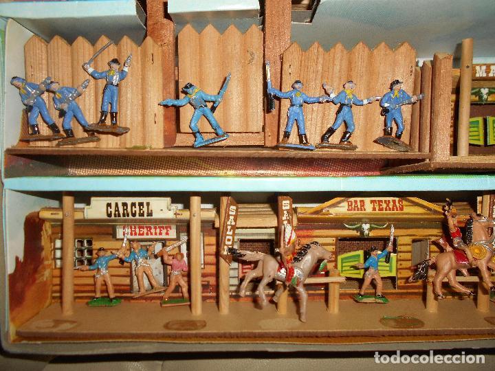 Figuras de Goma y PVC: ESPECTACULAR CAJA MINIOESTE COMANSI TODO EL OESTE AMERICANO AÑO 60 70 CON EXTRAS CASI PERFECTO !!! - Foto 6 - 95158543