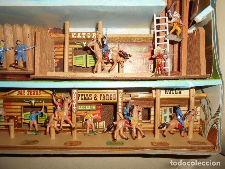 Figuras de Goma y PVC: ESPECTACULAR CAJA MINIOESTE COMANSI TODO EL OESTE AMERICANO AÑO 60 70 CON EXTRAS CASI PERFECTO !!! - Foto 7 - 95158543