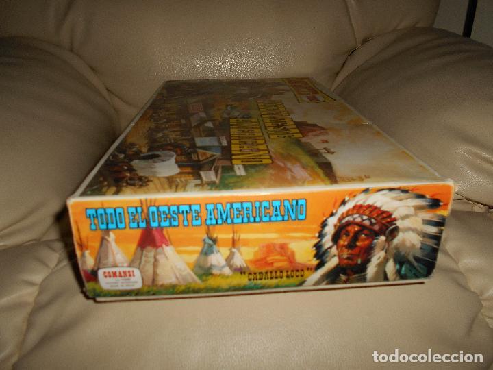 Figuras de Goma y PVC: ESPECTACULAR CAJA MINIOESTE COMANSI TODO EL OESTE AMERICANO AÑO 60 70 CON EXTRAS CASI PERFECTO !!! - Foto 12 - 95158543