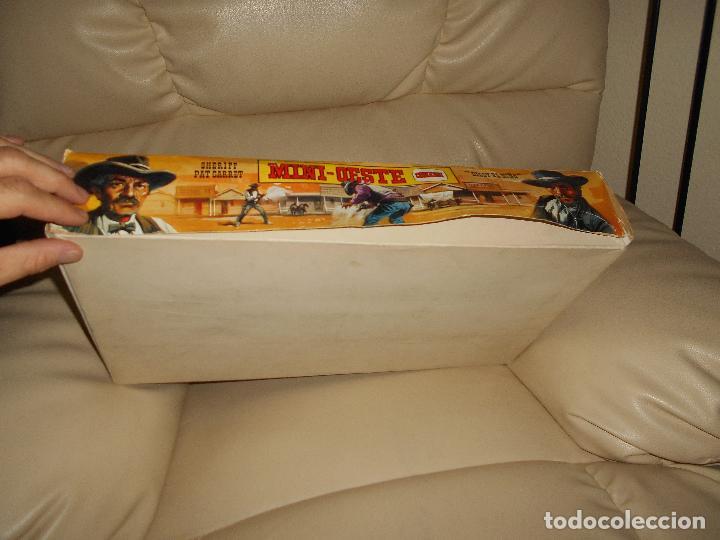 Figuras de Goma y PVC: ESPECTACULAR CAJA MINIOESTE COMANSI TODO EL OESTE AMERICANO AÑO 60 70 CON EXTRAS CASI PERFECTO !!! - Foto 14 - 95158543