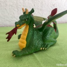 Figuras de Goma y PVC: DRAGON PULL & GO KNIGHTS OF THE SWORD 1988 BRITAINS MEDIEVAL SOLDADOS COLECCION. Lote 95277091