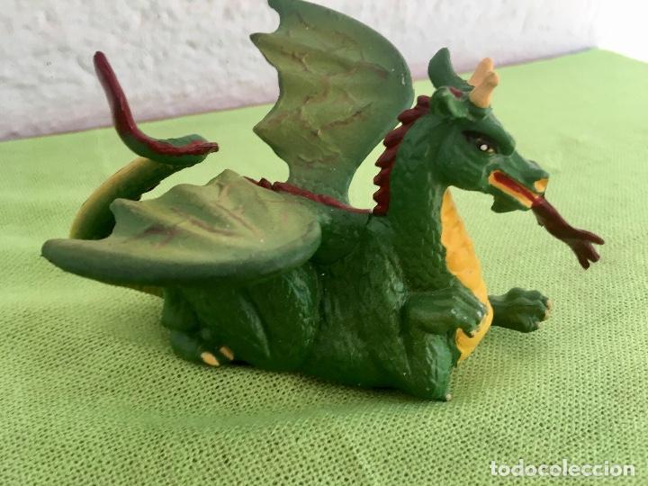 Figuras de Goma y PVC: Dragon pull & go knights of the sword 1988 britains medieval soldados coleccion - Foto 3 - 95277091