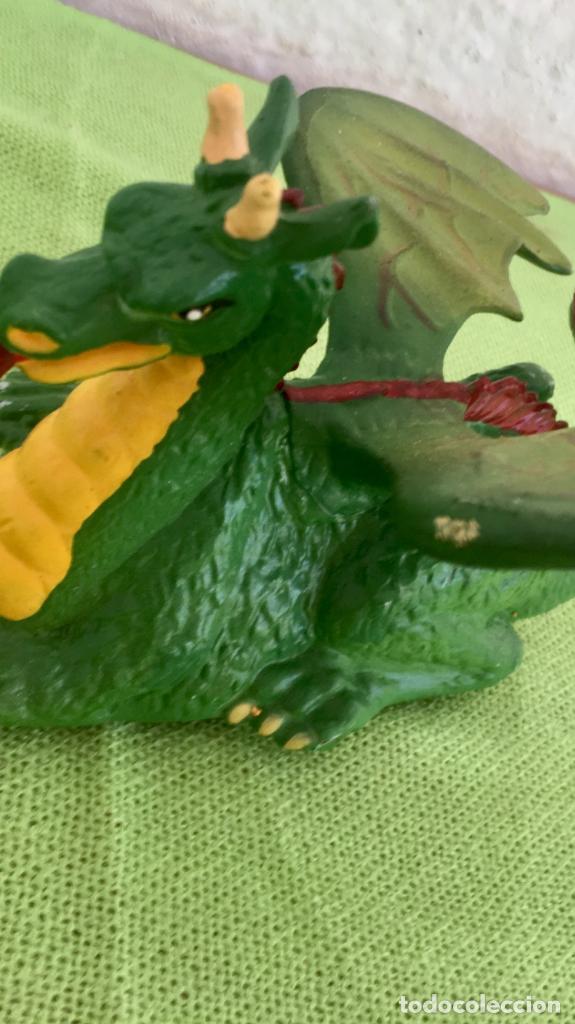 Figuras de Goma y PVC: Dragon pull & go knights of the sword 1988 britains medieval soldados coleccion - Foto 11 - 95277091