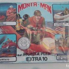 Figuras de Goma y PVC: SOBRE SIN ABRIR MONTA-MAN MONTA PLEX EXTRA Nº 10. Lote 95343603