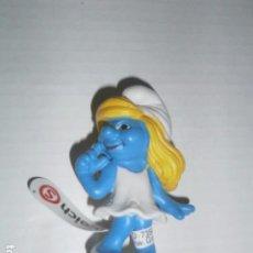 Figuras de Borracha e PVC: FIGURA PVC PITUFINA FELIZ SCHLEICH A ESTRENAR PRECINTADO. Lote 95427059