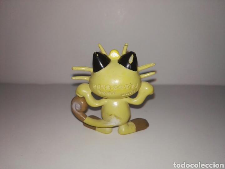 Figuras de Goma y PVC: FIGURA POKEMON MEOWTH TOMY PVC 1998 - Foto 2 - 95545354