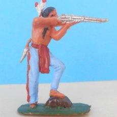 Figuras de Goma y PVC: INDIO DE LA CASA JECSAN.. Lote 95585439