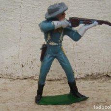 Figuras de Goma y PVC: SOLDADO DE LA BATALLA DEL LITTER BING HORN DE DE PECH. Lote 95615207