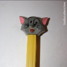 Dispensador Pez: ANTIGUO DISPENSADOR CARAMELOS PEZ FIGURA DEL GATO DE TOM Y JERRY. . Lote 95670547