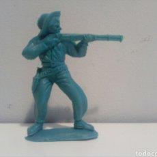 Figuras de Goma y PVC: VAQUERO EMIROBER LAFREDO AÑOS 60/70.. Lote 95690111
