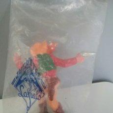 Figuras de Goma y PVC: LAFREDO, VAQUERO 70 MM. EN SU BOLSA ORIGINAL SIN ABRIR - SERIE OESTE INDIOS VAQUERO INDIO. Lote 95694636