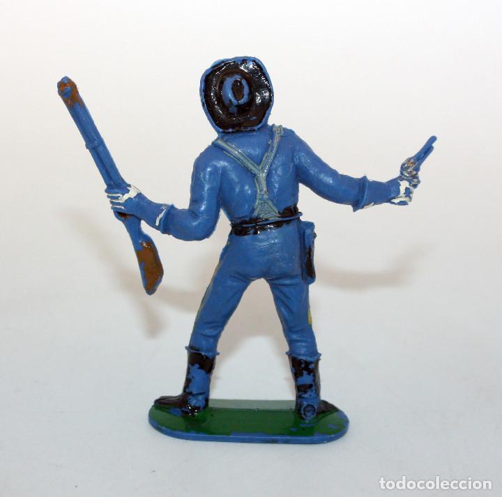 Figuras de Goma y PVC: ANTIGUA FIGURA SOLDADO FEDERAL - PECH - OESTE - CONFEDERADO - FEDERALES - Nº1 - Foto 2 - 95759211